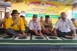 Partai Golkar dukung Herman-Mulyana di Pilkada Cianjur