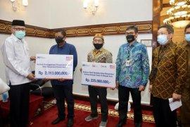 Salurkan CSR, Nova apresiasi BRI Wilayah Aceh