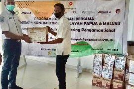 Tenaga medis dan jurnalis di Manokwari dapat JPS SKK Migas Pamalu