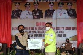 Balangan Coal bantu fasilitas pendukung  Kampung Tangguh Banua