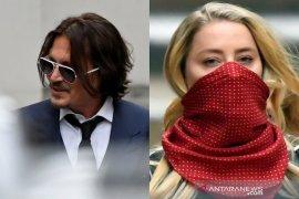 Putusan kasus pencemaran nama baik Johnny Depp rilis Senin