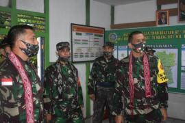 Tim Wasev TNI kunjungi lokasi TMMD 108 Kodim 1203/Ktp