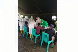 TNI gelar rapid tes massal di Putussibau