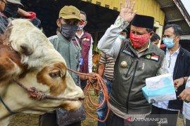 Wagub Jabar tinjau pasar hewan