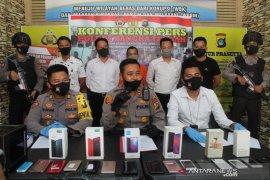Sindikat pencurian di Bangka Tengah terungkap melalui jejaring sosial