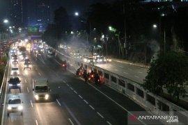 Polda Metro amankan 20 remaja saat aksi di Gedung DPR