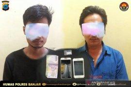 Polsek Astambul tangkap dua pengedar narkoba