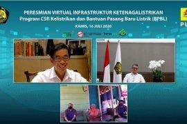 Menteri ESDM resmikan tiga pembangkit listrik di Maluku