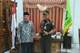 Bangun kemitraan, Kajari Padangsidimpuan kunjungi IAIN Padangsidimpuan