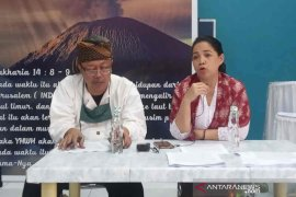 Karena tak ada IMB, pembangunan makam tokoh Sunda Wiwitan dihentikan