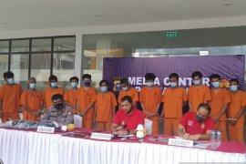 Polda Riau bongkar sindikat perampokan truk tangki  minyak sawit
