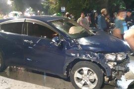 Mahasiswi tabrak pengendara motor dua tewas dan satu luka parah