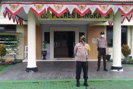 Wakapolres Bangka ingatkan personel polisi tingkatkan edukasi pencegahan COVID-19