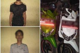 Dua orang pelaku curanmor diringkus Satreskrim Polres Serang Kota