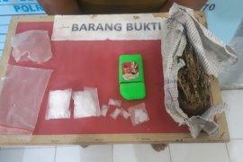 Edarkan sabu-sabu, pekerja bangunan di Aceh Utara ini diciduk saat bekerja