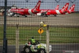 102 pesawat menganggur di  Bandara Soekarno-Hatta akibat pandemi