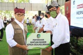 Disiplin adaptasi kebiasaan baru, Pemkab Banyuwangi bagikan 217.000 masker