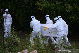 Persentase kematian akibat COVID-19 di Indonesia lebih tinggi dari dunia