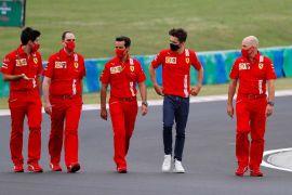 Pebalap Ferrari Charles Leclerc umumkan dirinya terinfeksi COVID-19