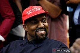 Kanye West tak lagi calonkan dirinya sebagai presiden AS, ini pengakuan pendukungnya