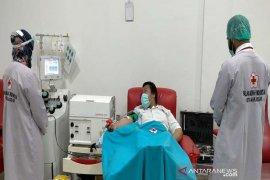 Bantu obati pasien COVID-19 PMI bersama rumah sakit sediakan Plasma Konvalesen