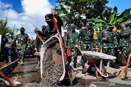 Mabes TNI AD evaluasi program TMMD di Lumajang