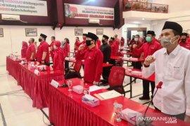 PDI Perjuangan umumkan rekomendasi enam pasangan calon kepala daerah di Jatim