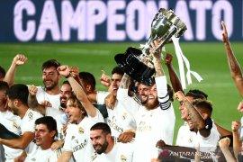 Ringkasan pertandingan Liga Spanyol saat Real Madrid pastikan juara