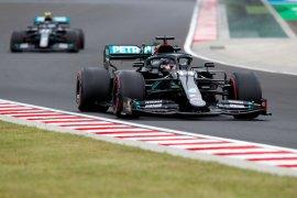 "Lewis  Hamilton raih ""pole position"" ke-90 di Grand Prix Hungaria"