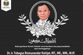 Sekjen KY  Tubagus Rismunandar meninggal dunia setelah sepekan positif COVID-19