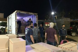 Penyelundupan ribuan botol minuman keras digagalkan Polres Sukabumi