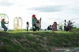 Wisata embung Hutadaa mulai ramai dikunjungi warga