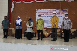 Himpaudi Bangka Tengah sosialisasikan metode belajar dari rumah