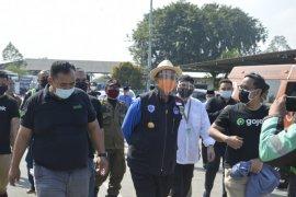 Pemprov Banten gelar test SWAB bagi pengojek online