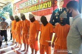 Polres Indramayu tangkap sembilan pencuri mobil