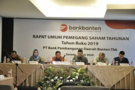 Bank Banten Gelar RUPST 2020 Fokus Penguatan Permodalan