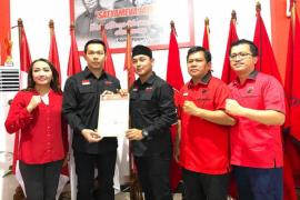 DPP PDIP keluarkan rekomendasi untuk Fransiskus Diaan - Wahyudi Hidayat