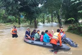 25 desa di enam kecamatan terdampak banjir di Konawe Utara