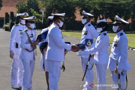 Kasal lantik 323 perwira  lulusan Diktupa dengan protokol COVID-19