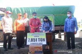 Pemprov Kalbar bantu 7,851 ton beras kepada korban banjir di Kabupaten Landak