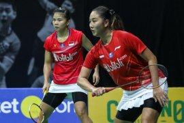 Pasangan Greysia/Febby peroleh posisi ketiga turnamen internal PBSI