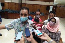 Kondisi fisik gedung DPRD Provinsi Maluku memprihatinkan