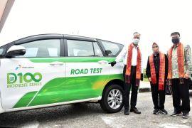 Menperin jajal mobil MPV dengan bahan bakar 'green diesel' D-100