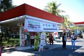 Di Denpasar,  konsumsi pertalite meningkat 92 persen