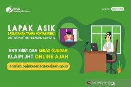 """BPJAMSOSTEK: Bebas pilih lokasi kantor cabang untuk klaim JHT """"Lapak Asik Online"""" menjadi lebih mudah"""