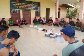 Dalam Rangka Hut Kodam XII/Tpr ke -62 Satgas TMMD laksanakan doa bersama