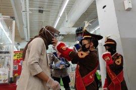 Polisi cilik sosialisasi pemakaian masker