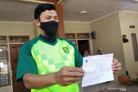 Ketua KPU datangi kediaman kiper Persib lakukan coklit Pilkada