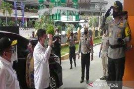Kapolda Kalsel kawal Kunker Menteri Kesehatan di Banjarmasin
