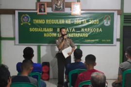 Satgas TMMD dan Polsek Tumbang Titi sosialisasikan bahaya narkoba